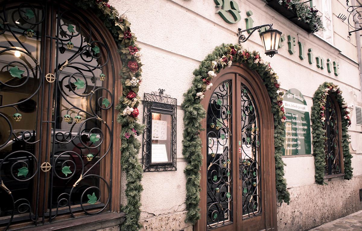 Gösser Bierklinik in Wien, Straßenansicht